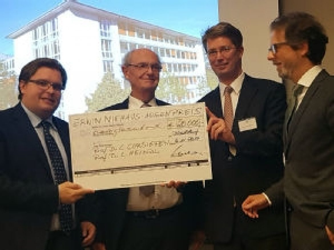 A first for ophthalmology: FOR 2240 team wins Erwin Niehaus Prize